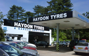Haydon Tyres and Garage Services, Romsey Rd, Cadnam, Southampton, Hampshire SO40 2NN