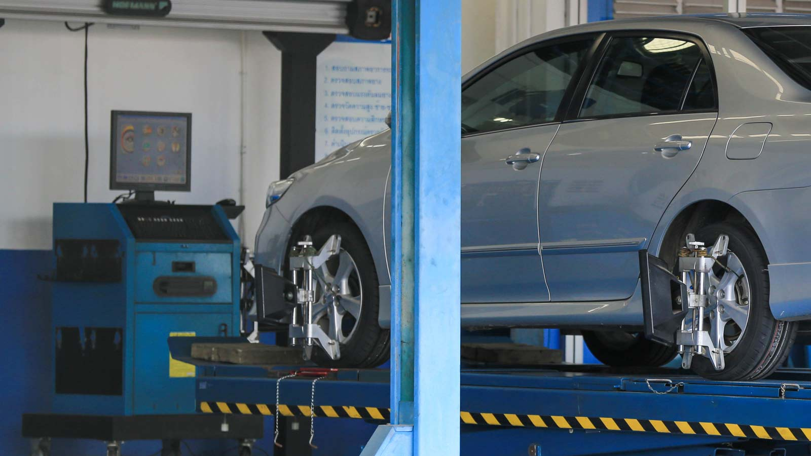 Haydon Tyres and Garage Services Southampton Four Wheel Alignment